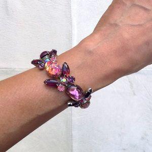 🆕 Listing!  Vintage Weiss   Statement Bracelet